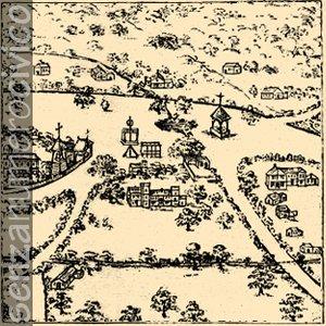 illustrazione villaggio