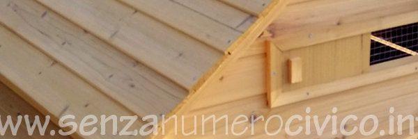 casetta pollaio in legno