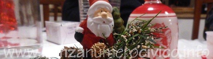centrotavola Babbo Natale
