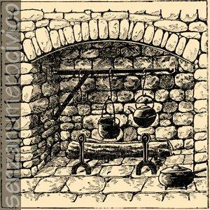 illustrazione camino
