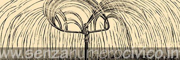 illustrazione irrigatore rotante