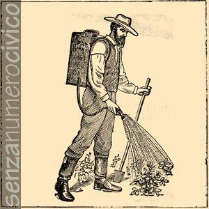 illustrazione irrigazione orto