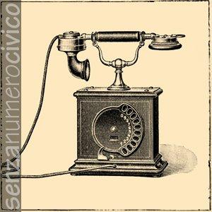 impianti secondari: illustrazione telefono