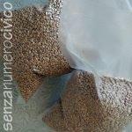 sacchetti di grano sottovuoto