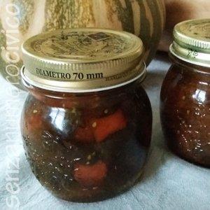 confettura di pomodori verdi e zucca, metodo Ferber