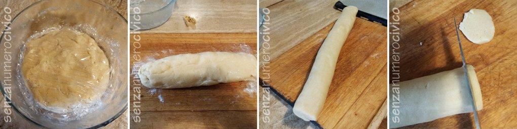 preparazione biscotti al burro
