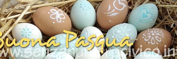 uova decorate di Pasqua