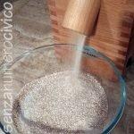 farina ottenuta dalla prima macinatura, ancora molto grossolana