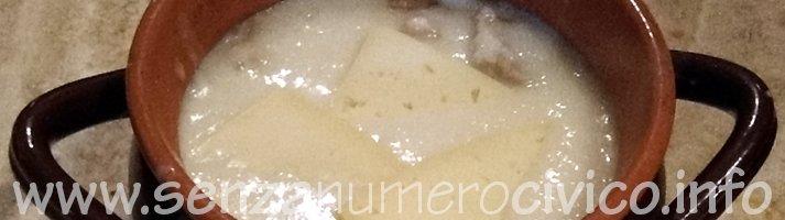 zuppa di cipolle nel coccio