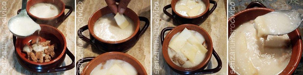 zuppa di cipolle e formaggio
