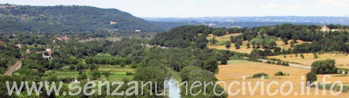 la valle del Tevere